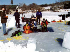 Ice Dive Training Course